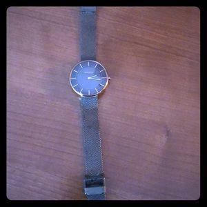 Skagen Women's Watch - Steel Mesh and Rose Gold